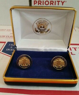 2013 Obama/Biden Inauguration Of The President And Vice President Cufflinks