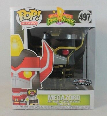 Funko Pop MEGAZORD Power Morphicon Exclusive Deluxe Vinyl Figure 497 Rangers
