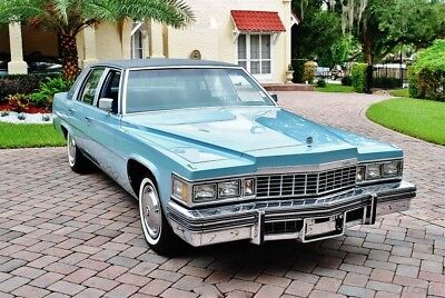 Cadillac DeVille with Only 3046 Actual Miles 1977 Cadillac Sedan Deville with just 3047 Actual Miles Stunning Condition