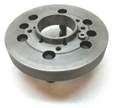 "10"" LATHE CHUCK MOUNTING PLATE w/ D1-8 MOUNT"