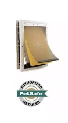 Dog Door Heavy Duty Flap System Pet Freedom Extreme Weather Insulated Large