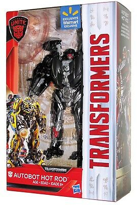 New Transformers The Last Knight Autobot Hot Rod Figure Deluxe Class Collectible