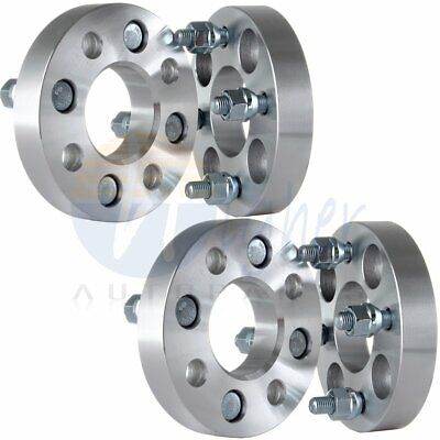 """4Pc 1.0"""" (25mm) 4x100 to 4x100 Wheel Spacers 12x1.5 For 1993-2002 Toyota Corolla"""
