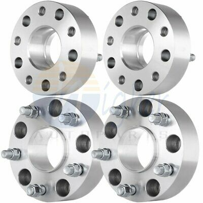 """4X 2"""" Thick 5x5.5 5x139.7 Hub Centric Wheel Spacers For 2002-2010 Dodge Ram 1500"""