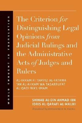 The Criterion for Distinguishing Legal Opinions from Judicial Rulings and the...
