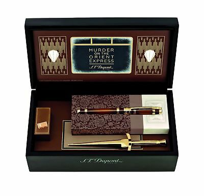 S.T. Dupont Murder On The Orient Express Fountain Pen, ST410186, New In Box