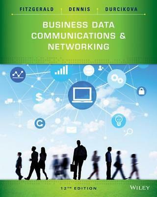 Business Data Communications and Networking by Jerry FitzGerald (author), Ala...
