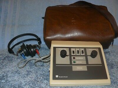Maico MA 25 Portable Audiometer, with Carrying Case, and fresh Calibration