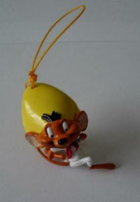 RARE Mini Figure SPEEDY GONZALES from LOONEY TUNES With DANGLER Tomy ITALY