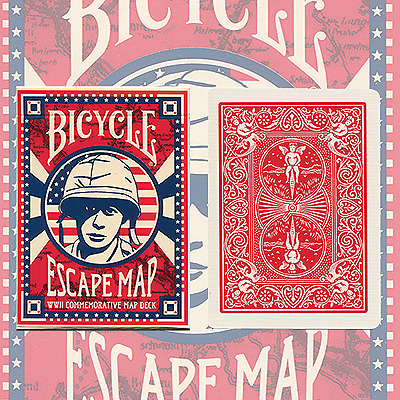 Bicycle Escape Map Playing Cards  - US Playing Card Company