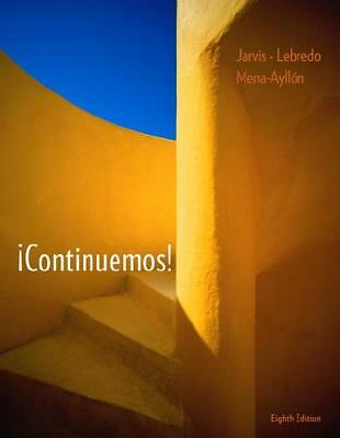 ãContinuemos! by Ana Jarvis (author), Raquel Lebredo (author), Francisco Mena...