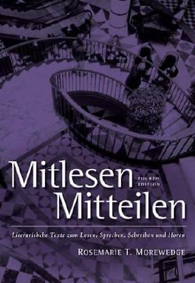 Mitlesen-Mitteilen by Larry Wells (author), Rosmarie Morewedge (author)