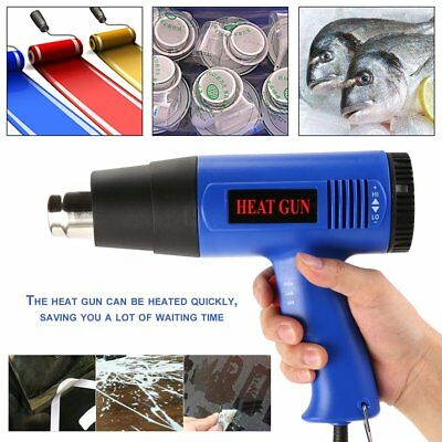 Portable 1800W Hot Air Power Heat Gun Soldering Station Hand Held 220V Tool Kits