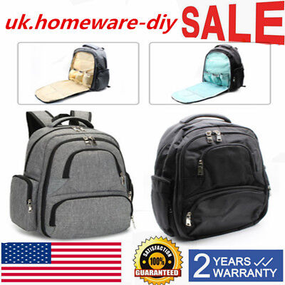 Baby Maternity  Mummy Large Bag Diaper Nappy Changing Travel Backpack Handbag