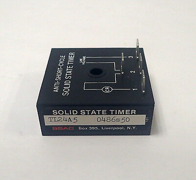 Ssac Tl24A5 Solid State Lockout Timer, 24Vac, 5 Minute
