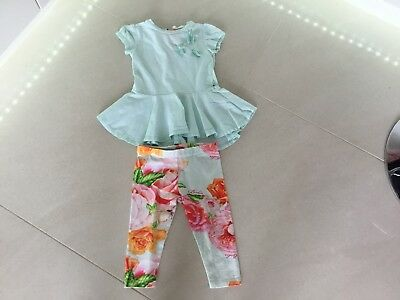 Ted Baker Girls Outfit 9m