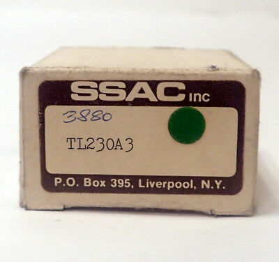 Ssac Tl230A3 Solid State Lockout Timer, 230Vac, 3 Minute