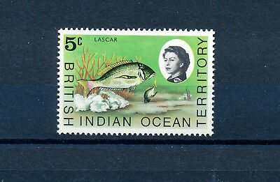 British Indian Ocean Territory 1973 Definitives Sg52  Mnh