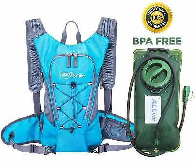 Hydration Pack with 2L Backpack hydration Bladder Waterproof Cycling Hiking