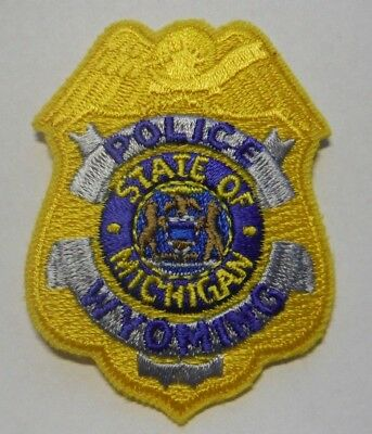 Wyoming Michigan Police Hat Vest Patch