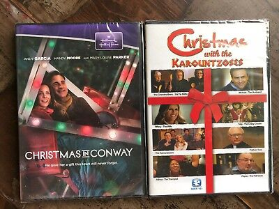 hallmark hall of fame christmas in conway karountzoses dvd lot new free ship - Christmas In Conway Hallmark