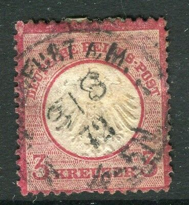 GERMANY; 1872 early classic Shield issue used 3k. value