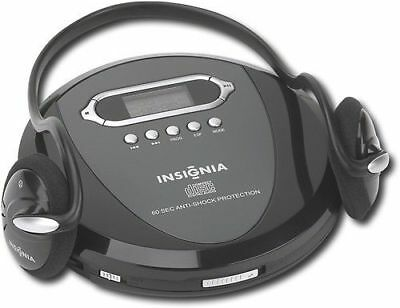 Insignia Portable CD Player with Skip Protection - NS-P4112 - With Headphones