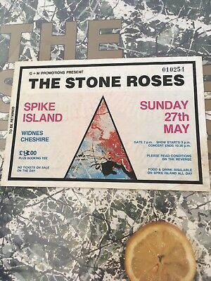 Stone Roses Original Spike Island Ticket great condition