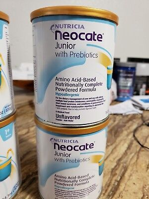 2 Cans only Neocate Junior and 2 cans neocate júnior with Prebiotics