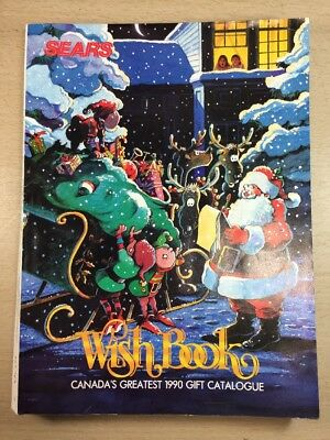 Sears Wishbook Cataloge 1990 Christmas Toys Magazine Shopping Ordering Reference