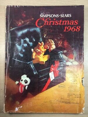 Sears Wishbook Cataloge 1968 Winter Toys Christmas Department Store Halifax