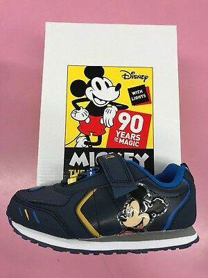 Mickey Mouse Boy Sneaker Shoes with Lights