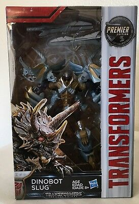 Transformers SLUG The Last Knight Premier Edition Deluxe class Dinobot  movie