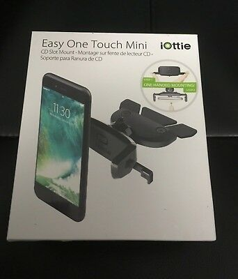 iOttie Easy One Touch Mini CD Slot Car Mount Holder Cradle for iPhone X & Galaxy