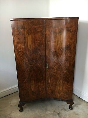 Art Deco tallboy, walnut, 1930's