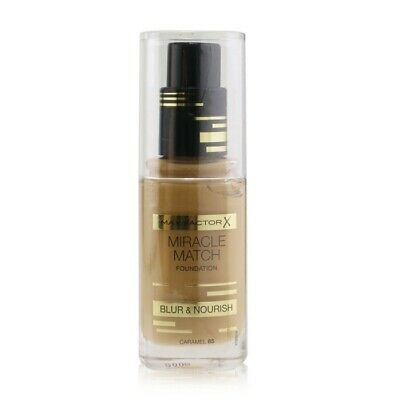 Max Factor Miracle Match Foundation Blur & Nourish - # 85 Caramel 30ml Womens