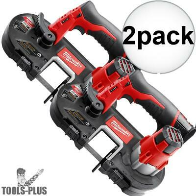 Milwaukee 2429-20 M12 Cordless Sub-Compact Band Saw (Tool Only) 2x New