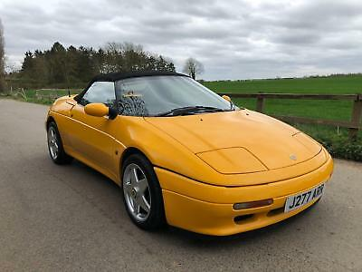 Lotus Elan SE turbo.Rare colour,leather trim.