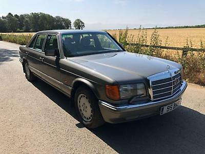 Mercedes-Benz 560 SEL,5.5 auto,very nice and very rare.