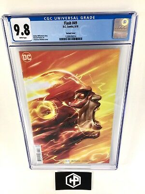 Flash #49 ( 2018 ) • CGC 9.8 • Mattina B Cover Variant • $1