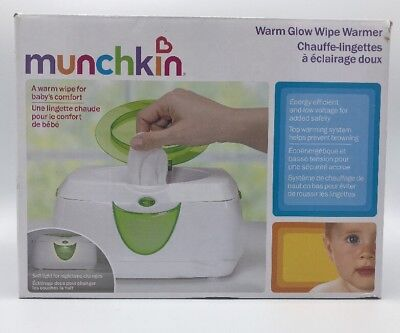 "Munchkin Warm Glow Wipe Warmer ""it's The Little Things """