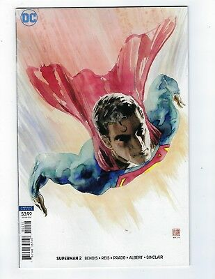 Superman # 2 Mack Variant Cover NM DC