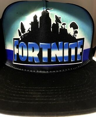 Fortnite Hat Flat Cap Rare New Release