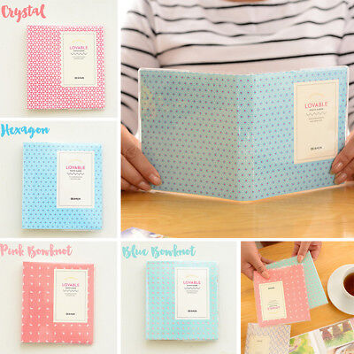 64 Pockets Photo Album For Fuji Film Instax Mini Polaroid FujiFilm Camera 7 8 90
