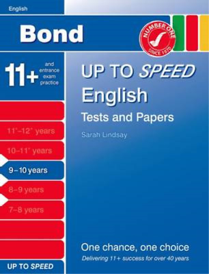 Bond Up to Speed English Tests and Papers 9-10 years, Down, Frances & Primrose,