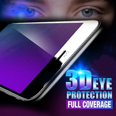 New 3D Full Cover Tempered Glass Screen Protector for iPhone 6 6S 7 8 Plus X