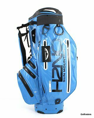 2018 Sun Mountain H2No Elite Cart Bag 100% Waterproof Cobalt/black- New #f991
