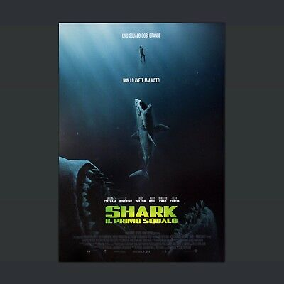 Film Poster Originale The Meg Shark Il Primo Squalo - 70x100 CM