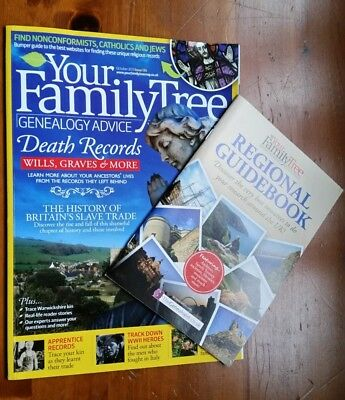 Your Family Tree Death records, Wills & Graves No.134 Oct 2013 inc supplement
