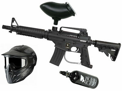 Paintball Set Tippmann Bravo One, inkl. JT Headshield + HP + JT Revo Loader